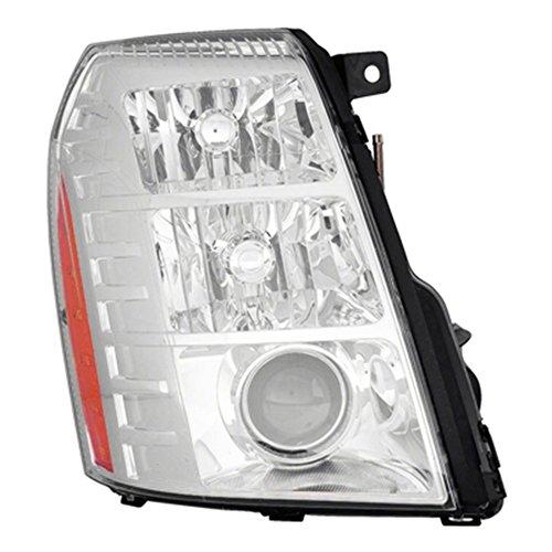 Passenger Side Hid Headlight Assembly Includes Ballast And Bulbs Asm Rh Hid 9-14 EscaladeesvHyb Inc Ballast 2Nd Design