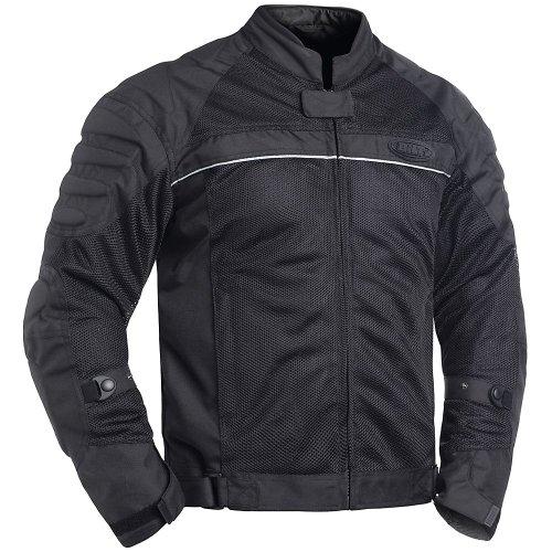 BILT Blaze Mesh Motorcycle Jacket - MD Black