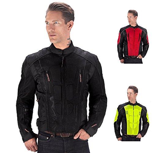 Viking Cycle Warlock Motorcycle Mesh Jacket Black-L