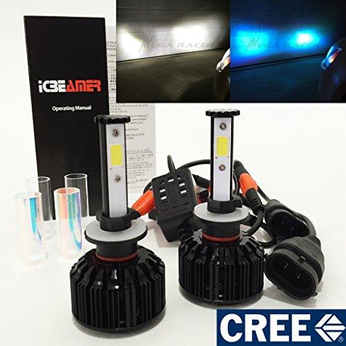 881 862 886 889 894 896 898 CREE COB LED 6K White 30K Blue Conversion Kit Headlight Fog Light - Replace Xenon Lamp Bulbs
