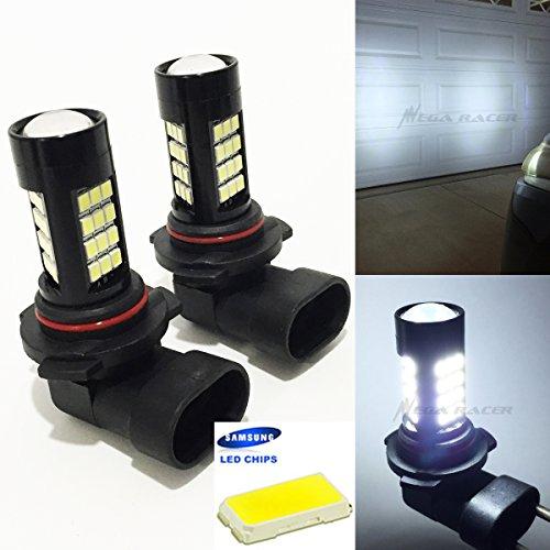 9005-HB3 High Beam Headlight Hyper White 6000K Bright Chip 42-LED Lamp Xenon Light Bulb Replace Stock OEM USA Seller