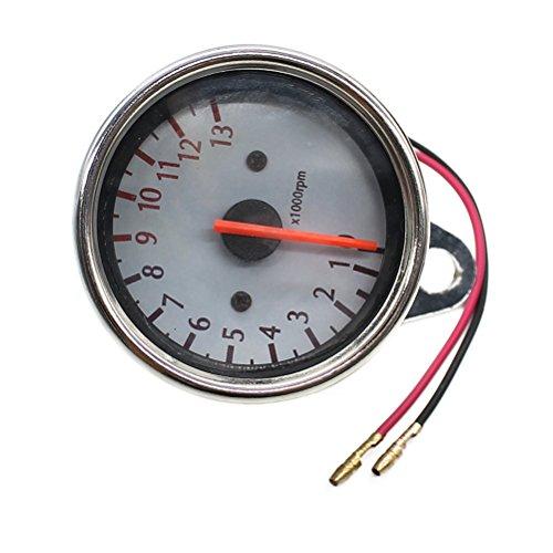 WINOMO 1000RPM Motorcycle Tachometer Speedometer With Backlight for Yamaha KTM Honda