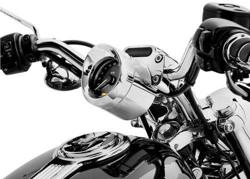 Kuryakyn SpeedometerTachometer Visor Each - Harley Davidson Road Glides  Sportster Customs 2004-2010  Honda VTX1800C 2002-2006 250 Rebel Shadow 1100 With Round Speedo on handlebars measuring 3-34 inches  Victory 2004-2012 Models Jackpot