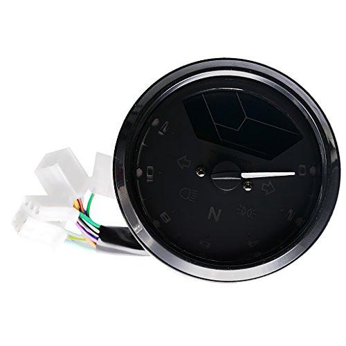 Jili Online LED Backlight LCD Digital Speedometer 12000 RPM kmh for Motorcycle Retrofit