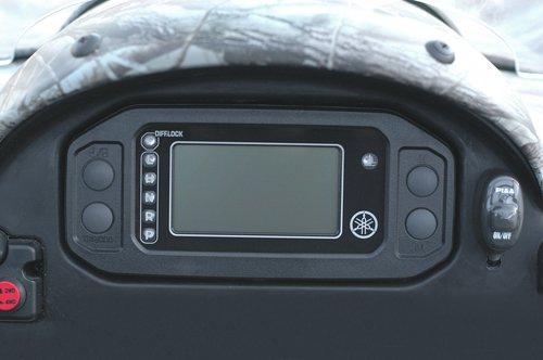RHINO 660 DIGITAL LCD SPEEDOMETER ODOMETER METER KIT 04 05 06 2004 2005 2006