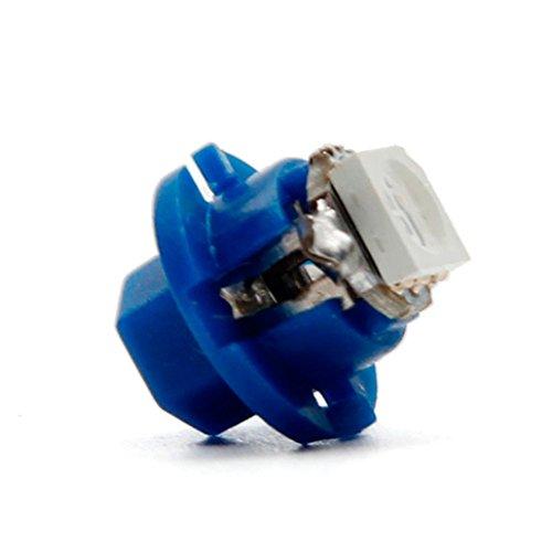 Bokeley 1X B84D 5050 1-SMD Dash Auto Side Dash Gauge Instrument LED Lights Bulbs Blue