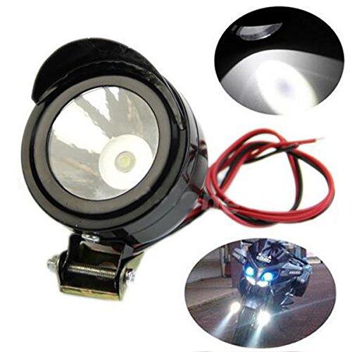 LED Fog Spot Light Headlight 12V Universal For Electric Motorcycle
