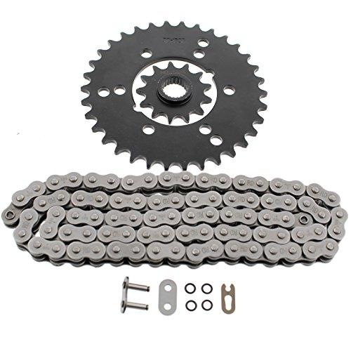 Polaris 400L 4x4 O Ring Chain Rear Sprocket Set