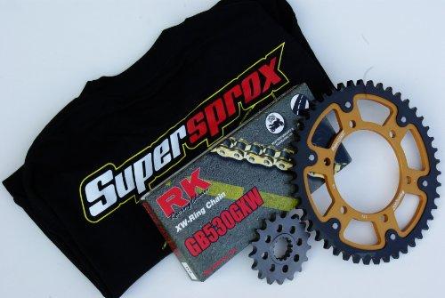 Supersprox Stealth Chain and Sprocket Set for Suzuki GSX 1300R Hayabusa B-King 2008-2013