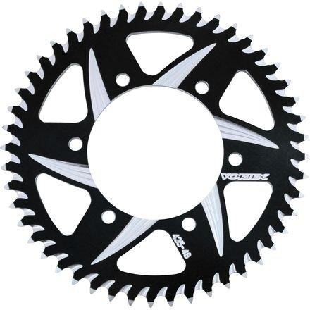 VORTEX - SPROCKETRear Black 49 Tooth530 Link for KAWASAKISUZUKI ZX600ZX750 VN800  GSXR750 TL1000S TL1000R 98-03 GSX1300R 99-07 Product code 436ZK-49