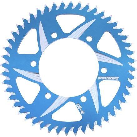 VORTEX - SPROCKETRear Blue 52 Tooth520 Link for SUZUKITRIUMPH GSXR600 GSXR750 GSXR1000 SV1000  Daytona Speed Four TT600  Bonneville  Speedmaster Thruxton  Tiger 1050 SprintST Product code 526AZB-52