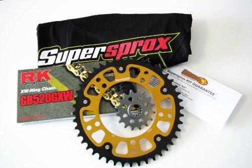 Supersprox Stealth 520 Chain and Sprocket Set for Suzuki GSXR 600 2001-2005