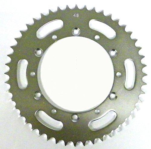 Kawasaki Steel Rear Sprocket Moto-X KX 125 1985-2005 KDX 200 1985-2006 KDX 220 1997-2005 KDX 250 1991-1994 48 Teeth RSK-014-48 OEM  42041-1328 42041-1448 42041-1383