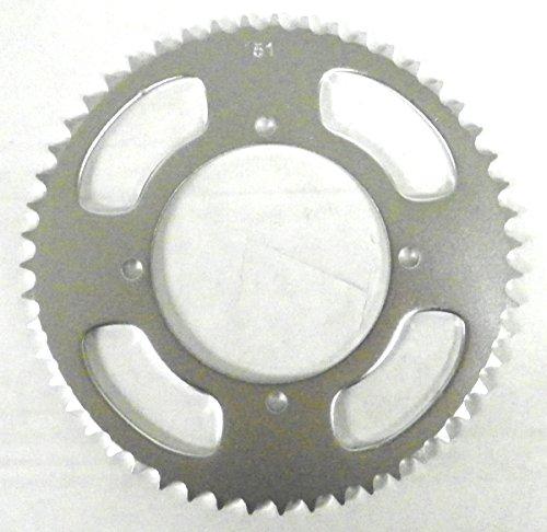 Kawasaki Steel Rear Sprocket Moto-X KX-BW 80 1991-1995 KX 85 2001-2017 KX 100 1995-2017 51 Teeth RSK-015-51