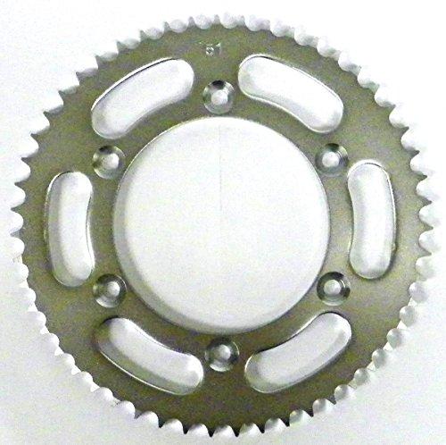 Suzuki Steel Rear Sprocket Moto-X Suzuki DRZ 125 2003-2009 2012-2014 51 Teeth RSS-025-51 OEM  42041-S001 64511-08G00