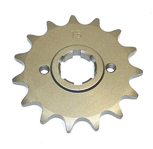 YAMAHA Steel Front Sprocket Moto-X TT 350 1986-1987 TT 600 1983-1986 XT 600 1984-1989 15 Teeth FSY-020-15 OEM  93834-15080-00