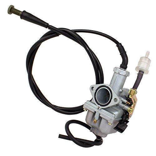CALTRIC Carburetor FITS HONDA TRX250EX TRX 250EX SPORTRAX 250 2001-2005 wThrottle Cable