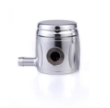 Billet Clutch Fluid Tank Silver