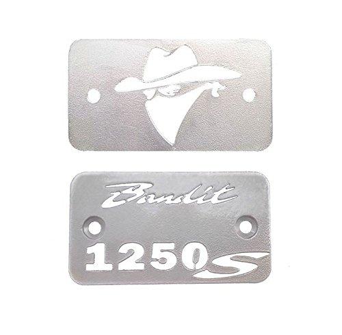 Suzuki GSF1250 Bandit brakeclutch fluid reservoir covers 2 pc