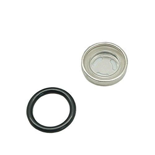 Lefossi 18mm Sight Glass Lens Gasket Repair Kit Motorcycle Front Rear Brake Clutch Master Cylinder For Honda Yamaha Kawasaki Suzuki