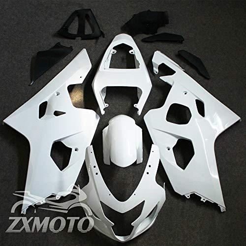 ZXMOTO Unpainted Fairing Kit for Suzuki GSXR 600 GSXR 750 K4 2004-2005