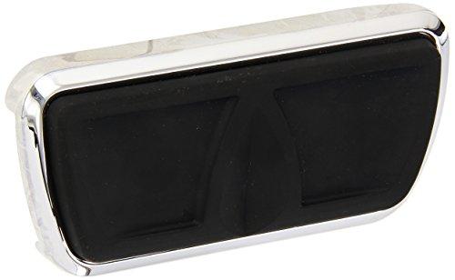 Kuryakyn 4310 Chrome Kinetic Brake Pedal Pad
