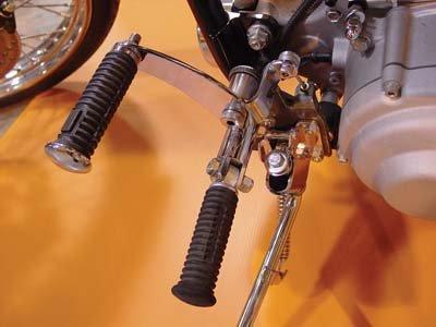 V-Twin 21-0114 - Jockey Pedal Kit Chrome