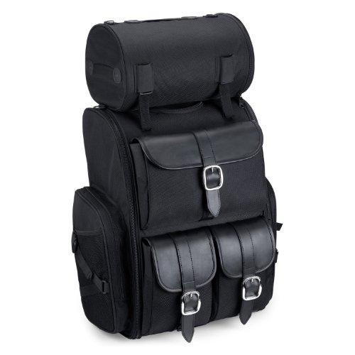 Viking Extra Large Plain Motorcycle Sissy Bar Bag