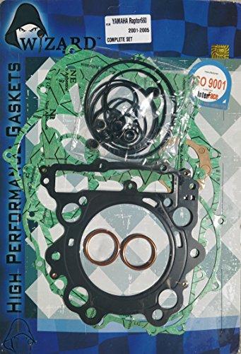 Yamaha Raptor 660 Complete Engine Gasket Set Top and Bottom end Gaskets 2001-2005