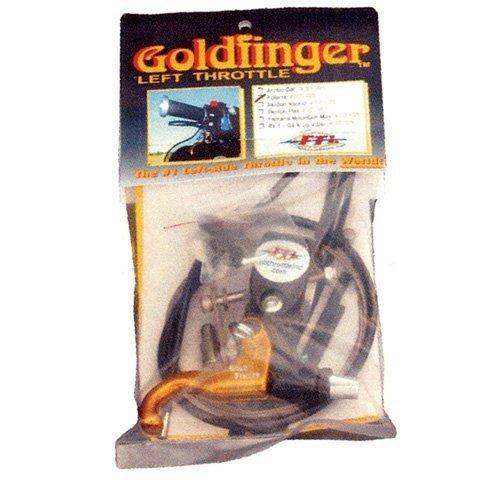 Full Throttle Goldfinger Left Hand Throttle Kit 007-1025G