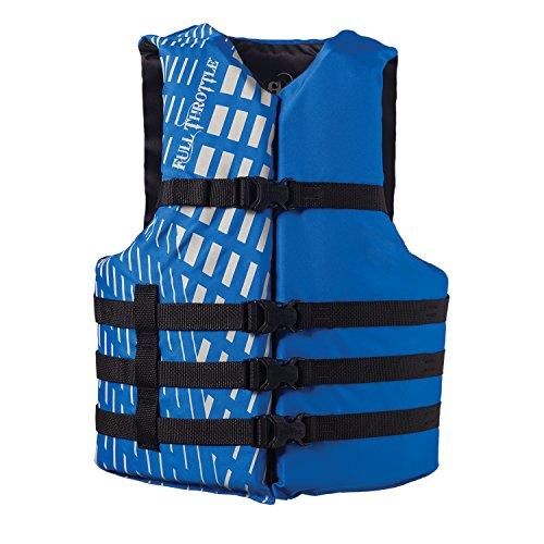 Full Throttle Oversize Life Vest - Blue  Black