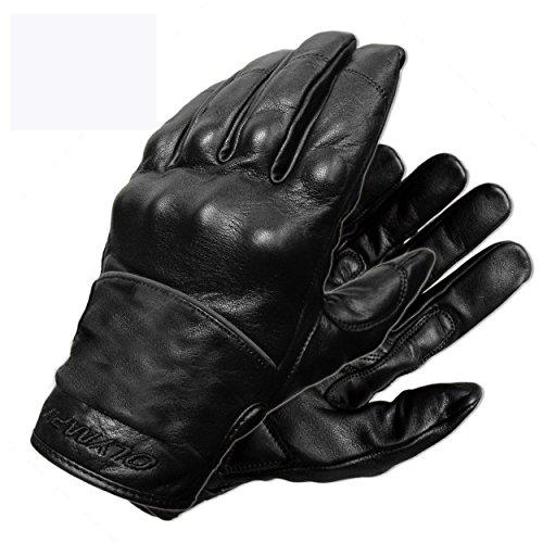Olympia Sports Mens Full Throttle Gloves Black Medium