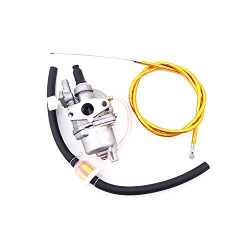 TC-Motor Gold Gas Throttle Cable  Carb Carburetor  Fuel Filter Hose Line For 2 Stroke 47cc 49cc Engine Parts Mini Dirt Pocket Bike Moto