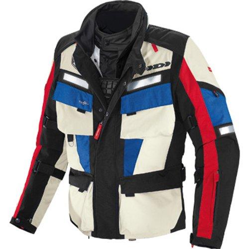 Spidi Marathon H2out Men's Textile On-road Motorcycle Jacket - Black/red/blue / Medium