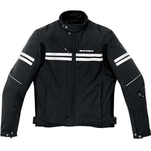 Spidi Mens Jk Black Textile Jacket - 2x-large