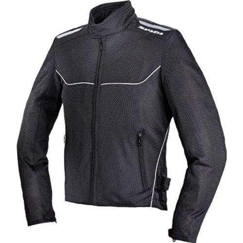 Spidi Netix Men's Textile/vented Street Bike Racing Motorcycle Jacket - Black / 2x-large