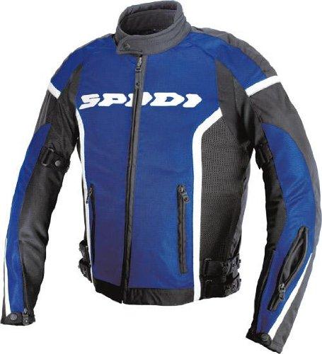Spidi Sport S.r.l. Net Gp Mesh Jacket , Apparel Material: Textile, Size: 3xl, Primary Color: Blue, Gender: Mens