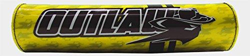 Outlaw Racing ORBP78Y Handlebar Cushion Crossbar Pad Yellow Motorcycle Dirtbike