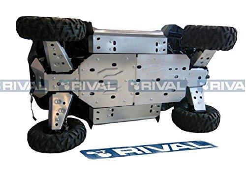 Skid plate kit for Polaris RZR-S 800