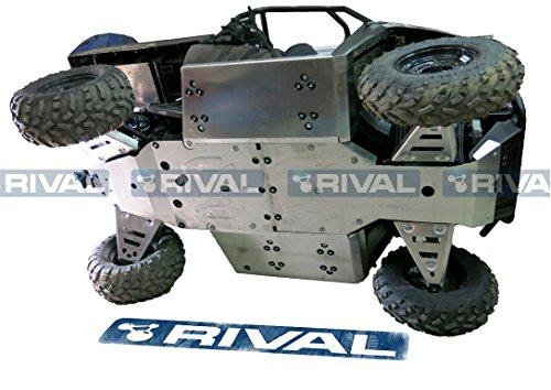 Skid plate kit for Polaris Ranger 570