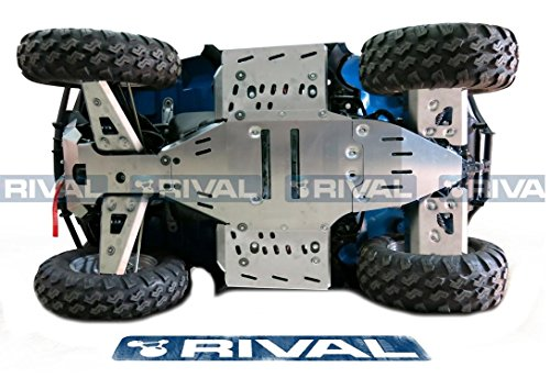 Skid plate kit for Polaris Sportsman 850 550 Touring