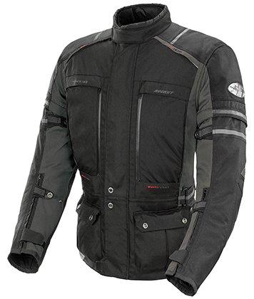 Joe Rocket Mens Ballistic Adventure Touring Motorcycle Jacket BlackGun Metal 2Xlarge
