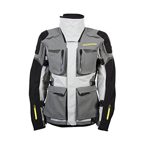 ScorpionExo XDR Yukon Mens Textile Adventure Touring Motorcycle Jacket Grey Large