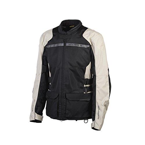 ScorpionExo XDR Yuma Mens Textile Adventure Touring Motorcycle Jacket Sand XX-Large