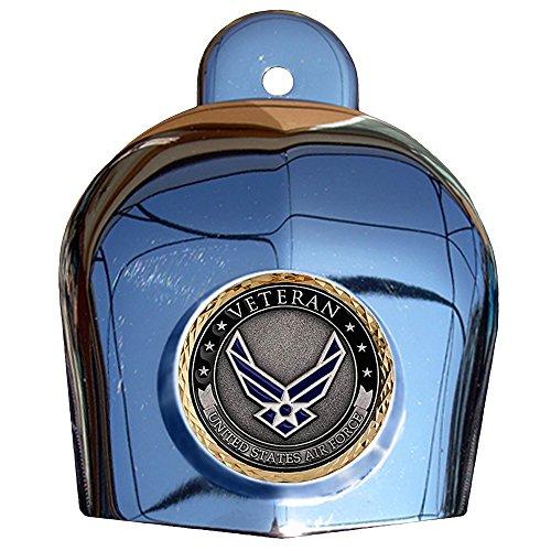 MotorDog69 Air Force Veteran Harley Horn Cover Coin Mount Set……