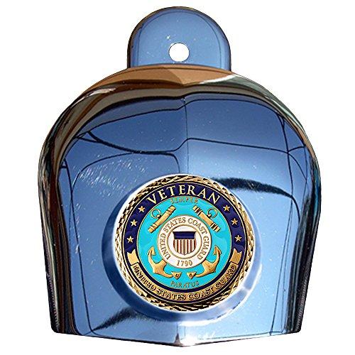 MotorDog69 Coast Guard Veteran Harley Horn Cover Coin Mount Set……
