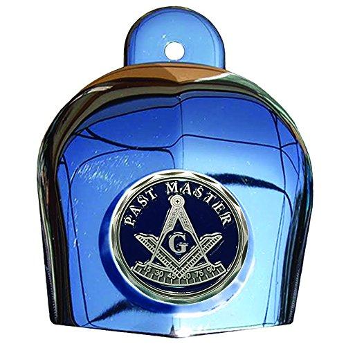 MotorDog69 Masonic Past Master Harley Horn Cover Coin Mount Set……
