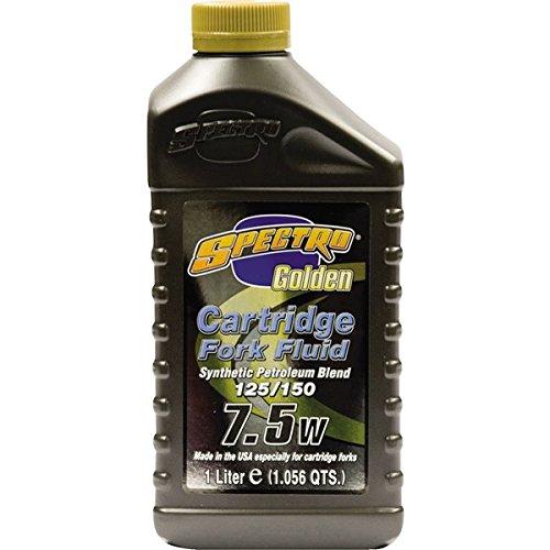 Spectro Golden Motorcycle Cartridge 75W Fork Oil 1 Quart