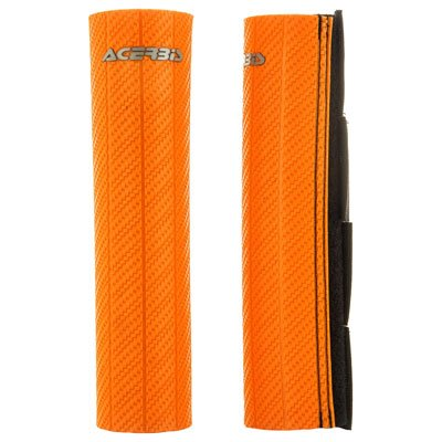 Acerbis Upper Fork Guards Orange for Suzuki DR-Z 125 2012-2014
