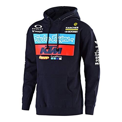 Troy Lee Designs 2019 Mens KTM Team Pullover HoodyX-LargeNavy